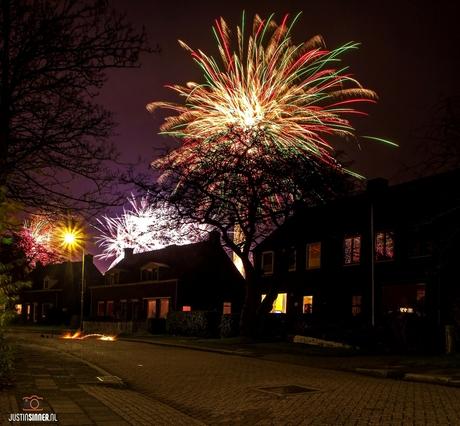 Vuurwerk op Texel