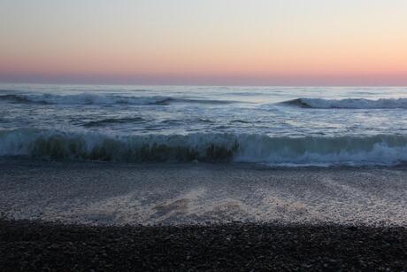schilderachtig strand
