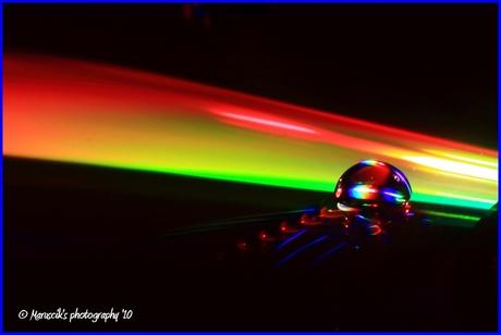 colorful drop