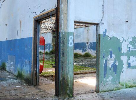 oude fabriekspand