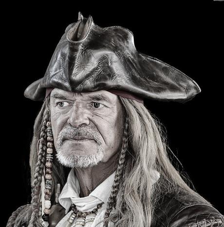 Piraat op de Batavia werf in Lelystad