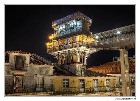 Santa Justa Lift, Lissabon