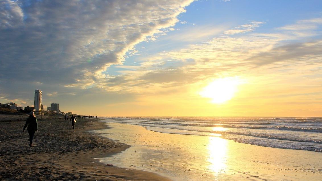Sunset in Holland - IMG_5686.JPG - foto door Derine op 29-12-2012