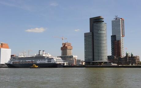 MS Rotterdam aan de H.A kade