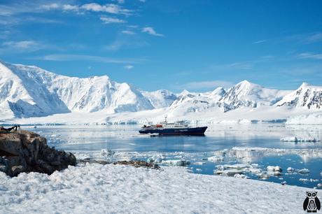 Antarctica - the ship