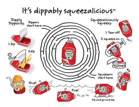 testje ketchup