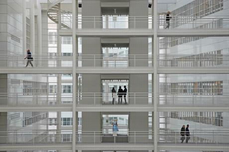 Atrium stadhuis Den Haag