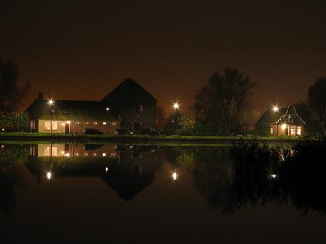 Nacht fotografie Broek in Waterland