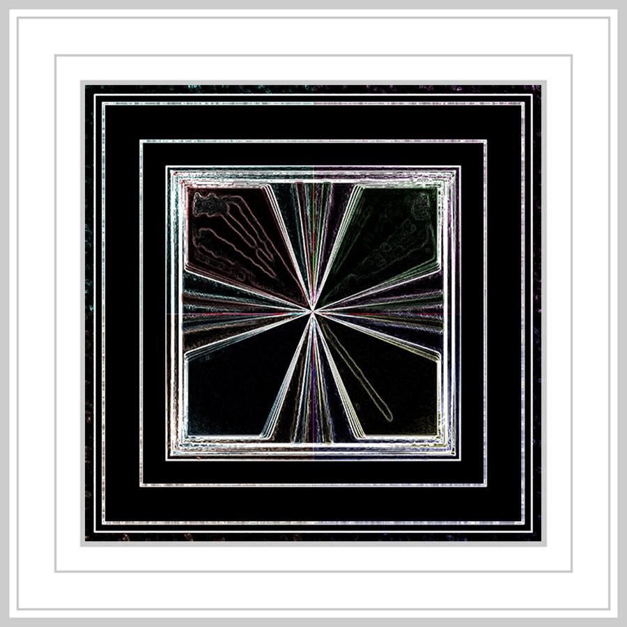 Creatief met kleuren - En maar experimenteren en men komt soms tot verbluffende resultaten. - foto door jos1953 op 16-04-2021 - locatie: Hasselt, België - deze foto bevat: product, rechthoek, natuurlijk materiaal, materiële eigenschap, symmetrie, patroon, parallel, beeldende kunsten, elektrisch blauw, cirkel