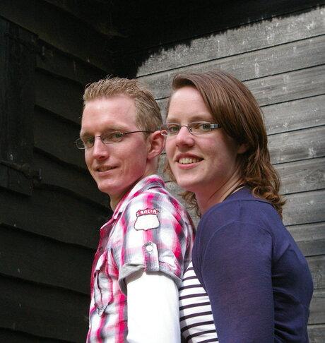 Anita en Wilfred