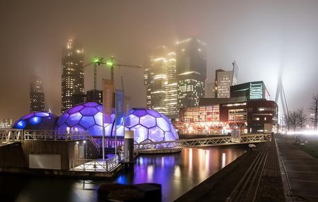 Rotterdam in de mist 4
