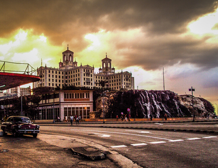 Hotel Nacional Havana Cuba - Hotel Nacional in Havana/Cuba - foto door cynthiaderksen op 28-11-2015 - deze foto bevat: bewerking, nostalgie, sfeer, hdr, lightroom