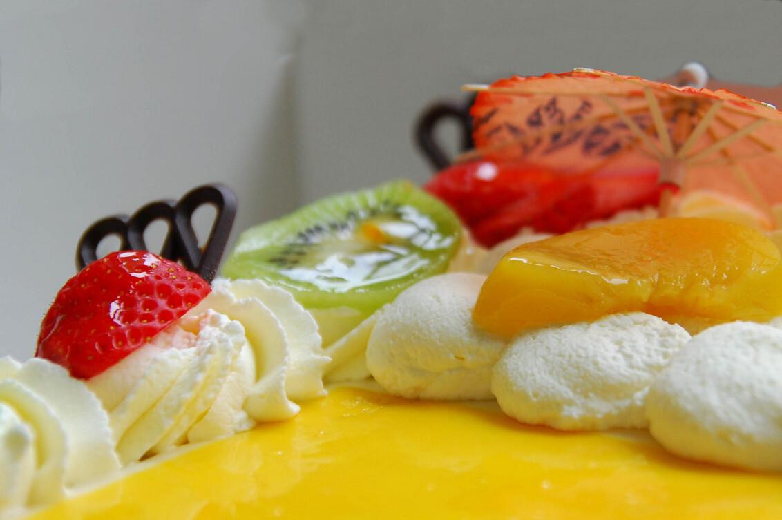 Om in te bijten ! - Verjaardag vier je met slagroomtaart ! - foto door slinger_zoom op 30-01-2010 - deze foto bevat: slagroom, taart, verjaardag