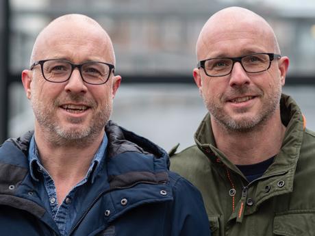 Eeneiige tweeling Stephan en Kenneth 2