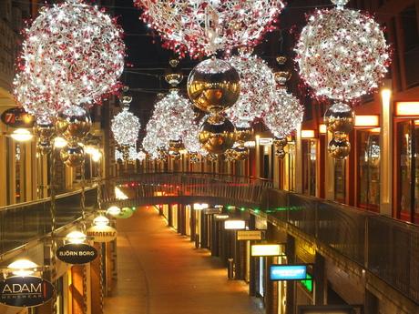 Kerst in de Marikenstraat te Nijmegen