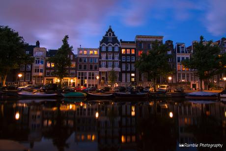 Amsterdamse grachten by night