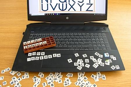 letters - Dertig dagen challenge dag: Letters. Met verschillende soorten letters. - foto door rptonia op 28-02-2021