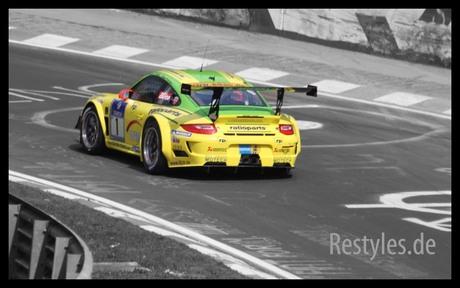 Mantey racing op de Nürburgring
