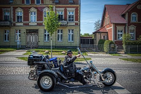 easy rider in Potsdam
