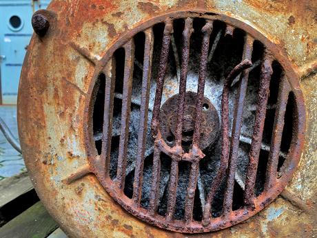 Close-up van ventilatie