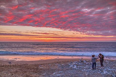 Sunset Atlantic Ocean