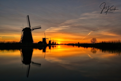 Sunrise Kinderdijk