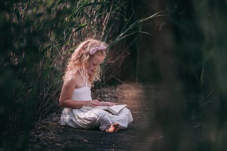 Lezende prinses