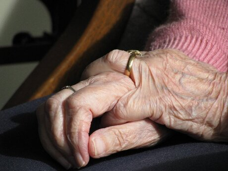 De handen van mijn oma