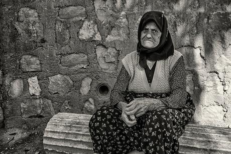 Oude vrouw