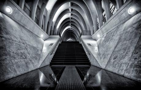 Guillemins Stairway