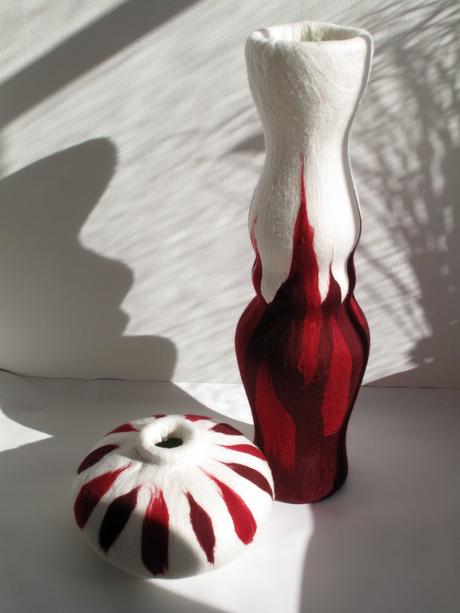 roodwitte vazen
