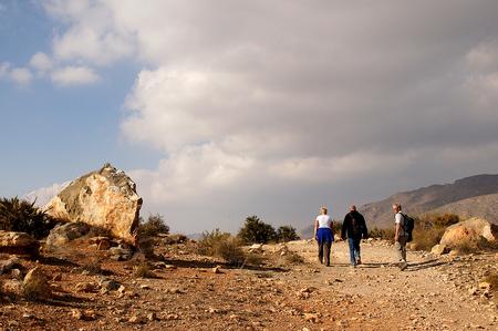 Wandeling 3 - Nog een foto van de wandeling van zondag. Vandaag en morgen wordt het, volgens weer online 19 graden, dus nog even genieten. Daarna zakt het  naar 16 - foto door Nel Hoetmer op 18-12-2013 - deze foto bevat: landschap, spanje, wandeling, nel