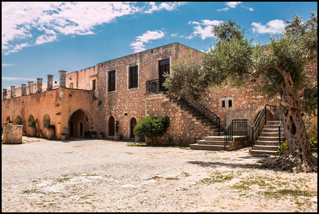 Binnenplaats Akardi Klooster