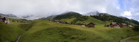 Panorama Malbun, Liechtenstein