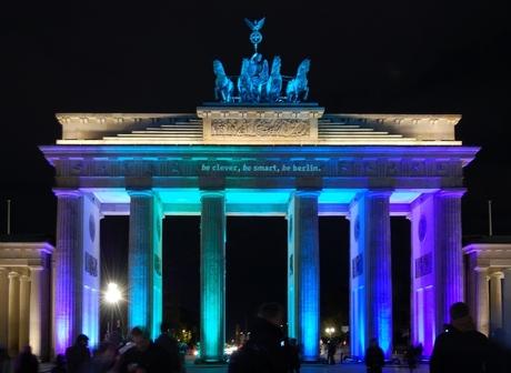 Berlijn - Festival of Lights - Brandenburger Tor
