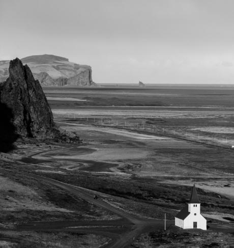 IJsland - Kerkje van Vík