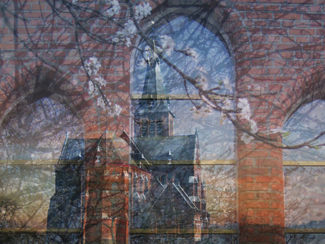 achter de kerk