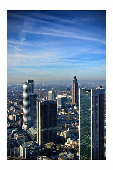 Aerial view Frankfurt am Main