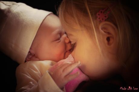 Mijn lieve, nieuwe zusje
