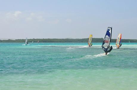WindSurfing on Bonaire