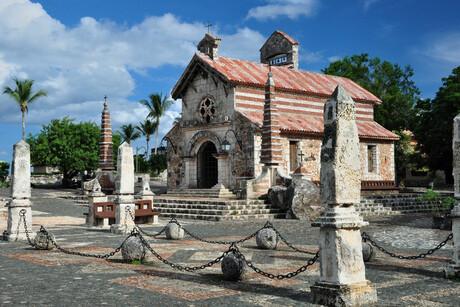 Kerkje in Altos de Chavón