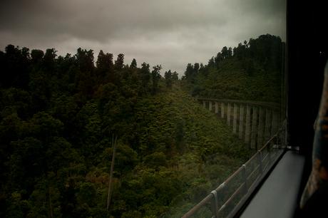 Scenic rail pass, New Zealand