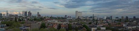 View over Rotterdam
