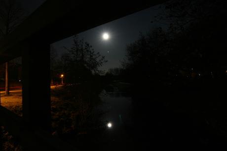 Houten by night