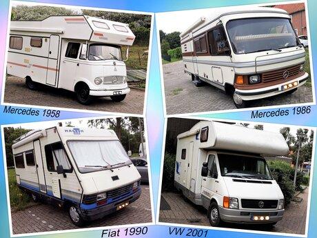 collage Oldie campers in Het Westland en omg nr2   fotos zomer 2021