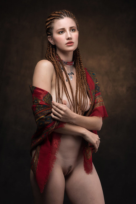 Beauty With Corn Rows