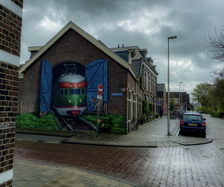 Train to Utrecht
