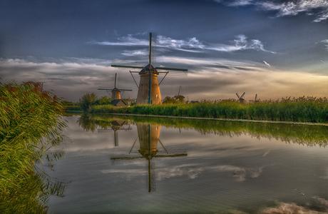 Kinderdijk molens september 2021