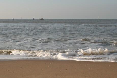 Boten en suppers op zee