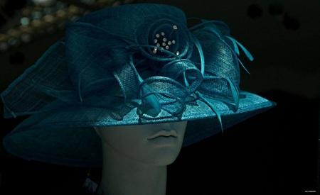 Chapeau - Zo,n hoed valt wel op. - foto door edu-1 op 28-01-2017 - deze foto bevat: schaduw, hoed, glamour, etalage, mode